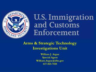Arms & Strategic Technology Investigations Unit