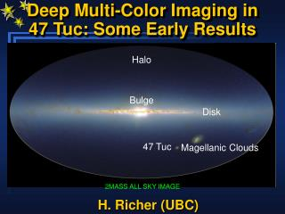 Deep Multi-Color Imaging in  47 Tuc: Some Early Results