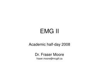 EMG II