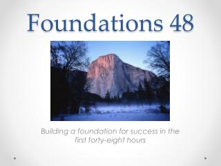Foundations 48