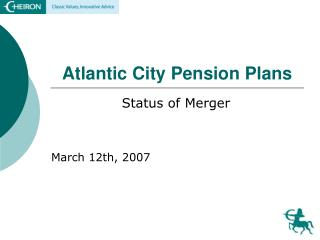 Atlantic City Pension Plans