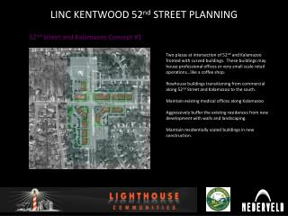 LINC KENTWOOD 52 nd  STREET PLANNING