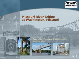 Missouri River Bridge  at Washington, Missouri