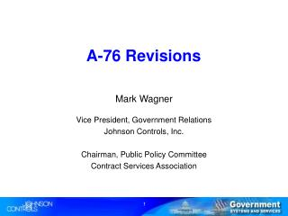 A-76 Revisions