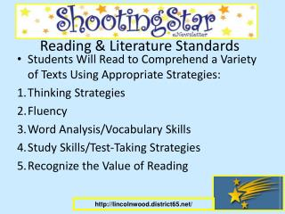Reading & Literature Standards
