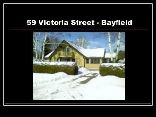 59 Victoria Street - Bayfield