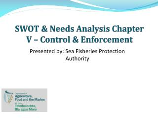 SWOT & Needs Analysis Chapter V – Control & Enforcement