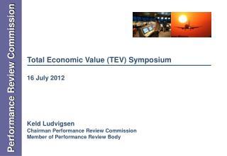 Total Economic Value (TEV) Symposium