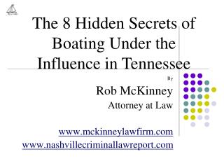 By Rob McKinney Attorney at Law mckinneylawfirm nashvillecriminallawreport