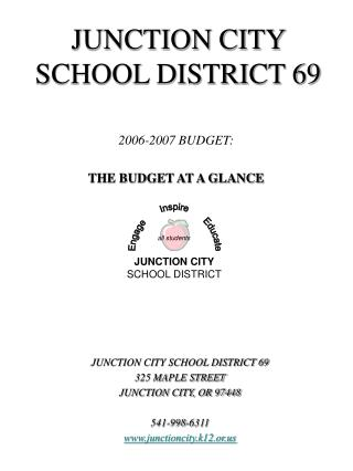 JUNCTION CITY SCHOOL DISTRICT 69