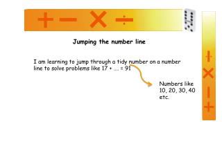 Jumping the number line