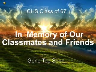CHS Class of 67'