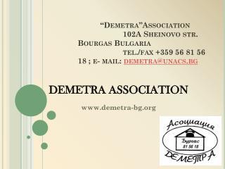 DEMETRA ASSOCIATION demetra-bg