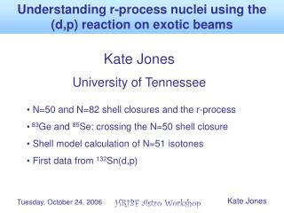 Understanding r-process nuclei using the (d,p) reaction on exotic beams