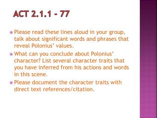 Act 2.1.1 - 77