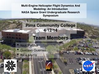 Pima Community College 4/12/14