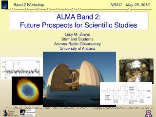 ALMA Band 2:  Future Prospects for Scientific Studies