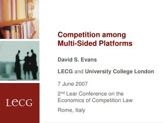 Competition among Multi-Sided Platforms