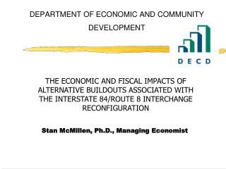 DEPARTMENT OF ECONOMIC AND COMMUNITY DEVELOPMENT