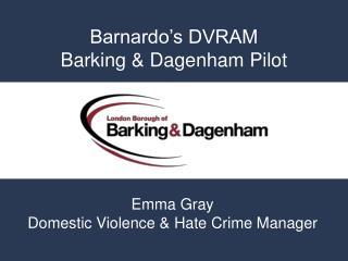 Barnardo s DVRAM Barking  Dagenham Pilot