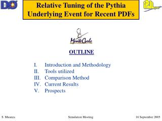 Relative Tuning of the Pythia Underlying Event for Recent PDFs
