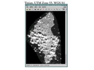 Tinian, UTM Zone 55, WGS 84