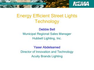 Energy Efficient Street Lights Technology