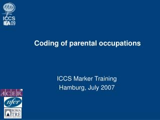 Coding of parental occupations