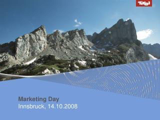Marketing Day Innsbruck, 14.10.2008
