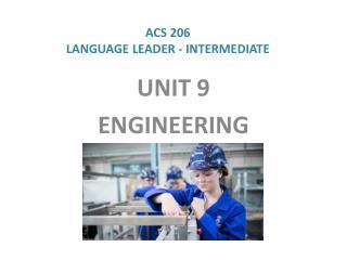 ACS 206 LANGUAGE LEADER - INTERMEDIATE