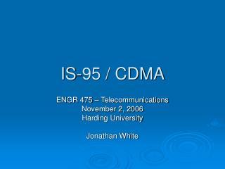 IS-95 / CDMA