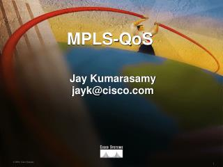 MPLS-QoS