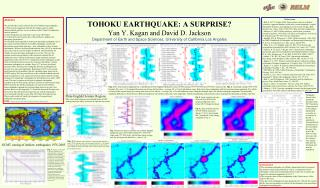 Abstract We consider three issues related to the 2011 Tohoku mega-earthquake: