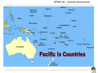 Pacific Is Countries