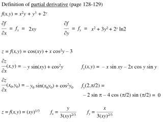 f ( x,y )  = x 2 y + y 3 +  2 y