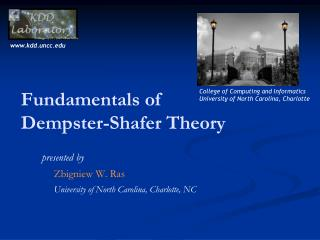 Fundamentals of  Dempster -Shafer Theory