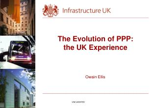 The Evolution of PPP: the UK Experience