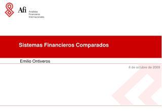 Sistemas Financieros Comparados