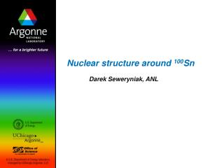 Nuclear structure around  100 Sn