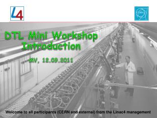 DTL Mini Workshop Introduction  MV, 12.09.2011