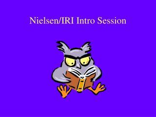 Nielsen/IRI Intro Session