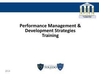 Performance Management & Development Strategies  Training