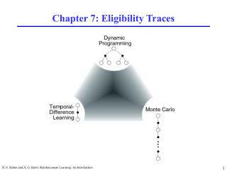 Chapter 7: Eligibility Traces