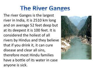 The  R iver Ganges