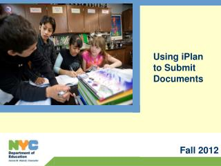 Using iPlan to Submit Documents