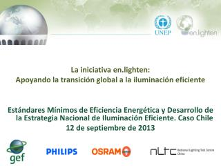 La  iniciativa  en.lighten: Apoyando la transición global a la iluminación eficiente