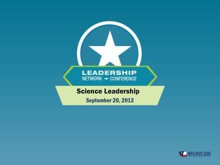 Science Leadership