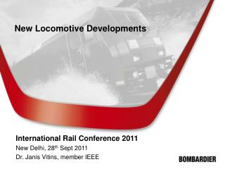 New Locomotive Developments