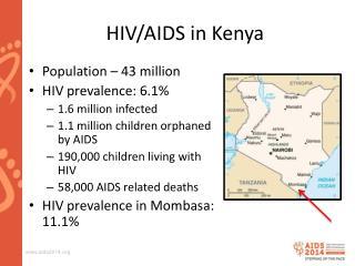 HIV/AIDS in Kenya