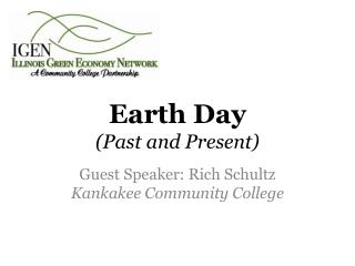 Earth Day  (Past and Present)